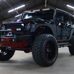 """2017 BLACK """"RBP EDITION"""" JEEP WRANGLER UNLIMITED SPORT WITH 4″ LIFT AND 37″ TIRES - $64,995"""