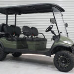 NEW MATTE GREEN WRAPPED ADVANCED EV AEV 4L+ WITH FACTORY LIFT & 23″ OFF-ROAD TIRES - $13,495