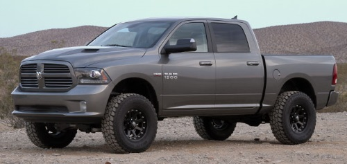 "Fabtech Dodge Ram 1500 4x4 6"" Performance System"