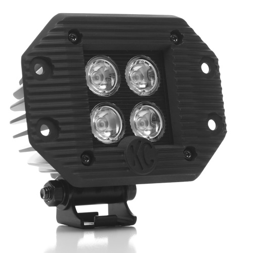"KC 3"" LZR LED Cube Flush Mount"
