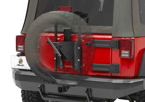 BesTop Oversize Tire Carrier