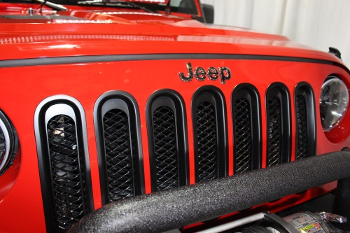 AWT Off Road Jeep Edition Rugged Ridge Black Grille Inserts