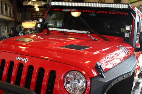 AWT Off Road Jeep Edition Rugged Ridge Performance Vented Hood