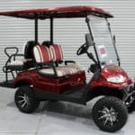 NEW MAROON ADVANCED EV AEV 2L+ WITH FACTORY LIFT & 22″ OFF-ROAD TIRES - $8,995