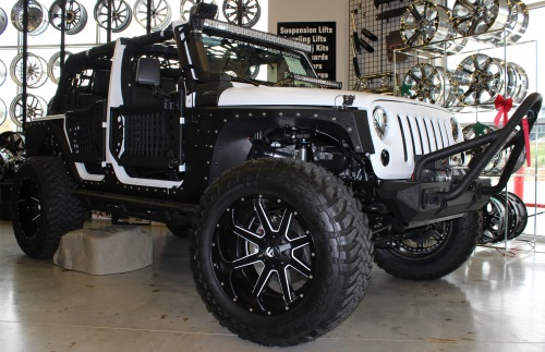 AWT Off Road Jeep Edition Fuel Offroad Two Piece Wheels Maverick
