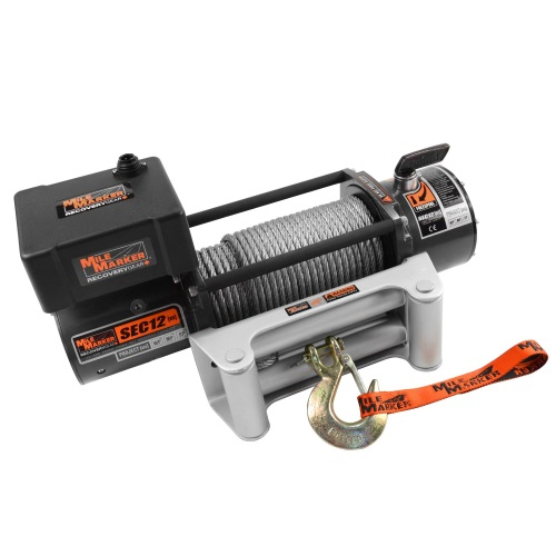 Mile Marker SEC12 12,000lbs Waterproof Electric Winch