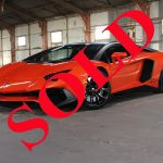 2013 ORANGE LAMBORGHINI AVENTADOR LP700-4 WITH SV UPDATE