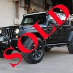 "2017 BLACK ""THUNDER EDITION"" JEEP WRANGLER UNLIMITED SPORT WITH 2.5″ LIFT AND 35″ TIRES"