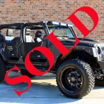 "2017 BLACK KEVLAR® ""RBP EDITION"" JEEP WRANGLER UNLIMITED SPORT WITH 4″ LIFT AND 37″ TIRES"