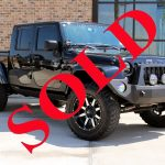 2014 BLACK AEV BRUTE JEEP WRANGLER UNLIMITED SAHARA WITH 2.5″ LIFT AND 35″ TIRES