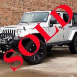2010 SILVER JEEP WRANGLER UNLIMITED SAHARA WITH 3″ LIFT AND 35″ TIRES