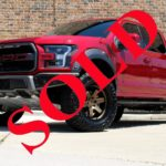 "2018 RUBY RED AWT PEACEMAKER 600HP FORD F150 RAPTOR CREW CAB 4X4 WITH 4"" LIFT AND 37"" TIRES"