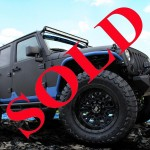 2013 JEEP WRANGLER UNLIMITED RUBICON WITH AEV JK350 PACKAGE