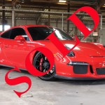 2015 GUARDS RED PORSCHE 911 GT3